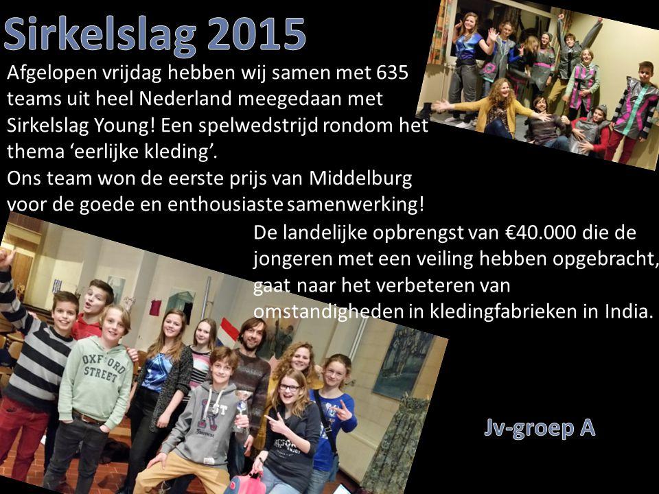 Afgelopen vrijdag hebben wij samen met 635 teams uit heel Nederland meegedaan met Sirkelslag Young! Een spelwedstrijd rondom het thema 'eerlijke kledi