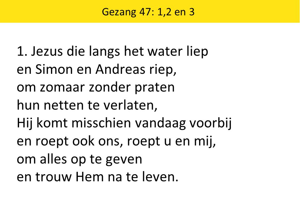 God of Justice Stepping forward keep us from just singing We moeten uitstappen i.p.v.