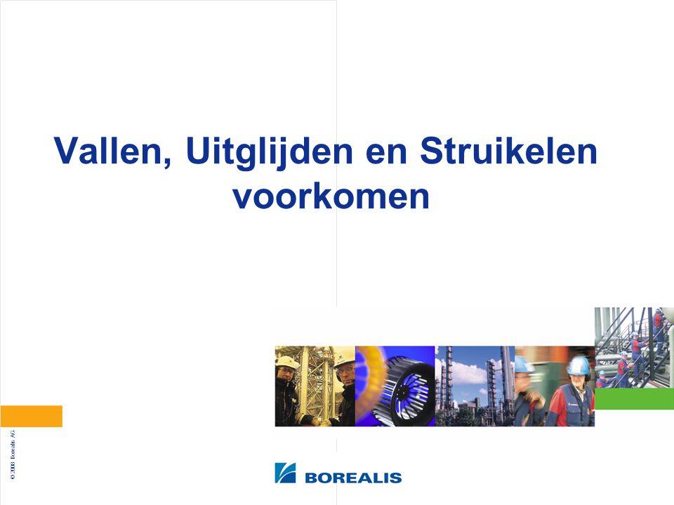 © 2008 Borealis AG Vallen, Uitglijden en Struikelen voorkomen