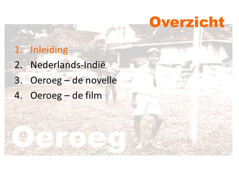 Overzicht 1.Inleiding 2.Nederlands-Indië 3.Oeroeg – de novelle 4.Oeroeg – de film