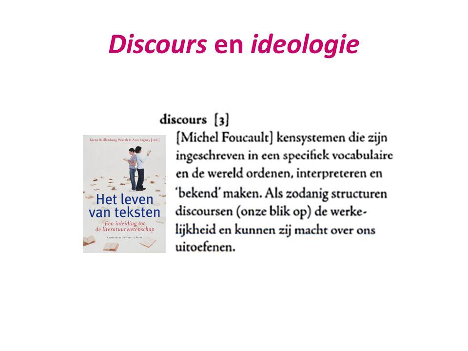 Discours en ideologie
