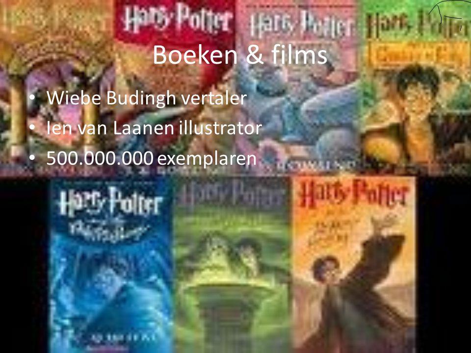 Boeken & films Wiebe Budingh vertaler Ien van Laanen illustrator 500.000.000 exemplaren