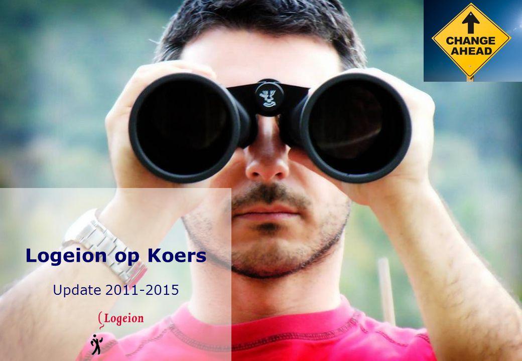 Koers 2011-2015 Logeion is een gezonde, groeiende vereniging met ruim 3.000 leden, die tegelijkertijd meer kwaliteit, scherpte en profiel kan gebruiken.