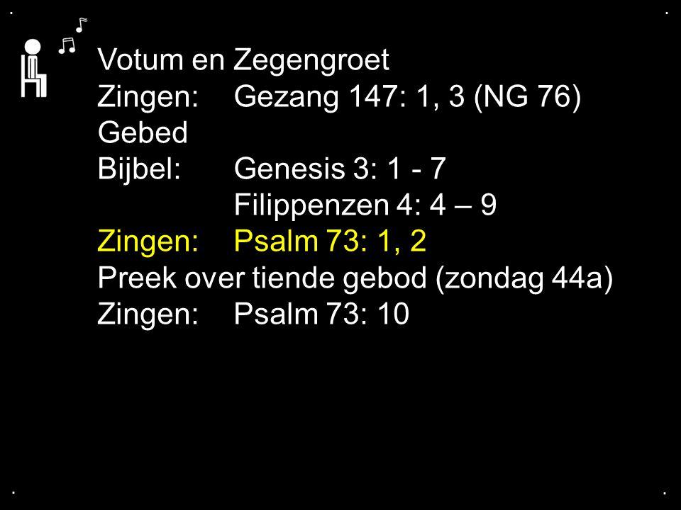 ... Psalm 73: 1, 2