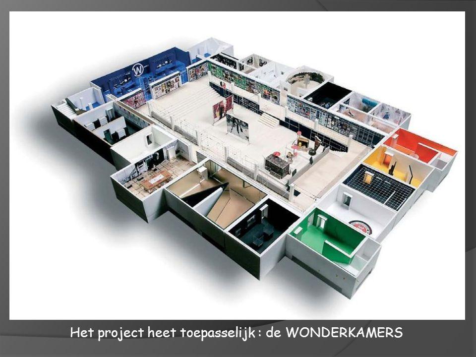 Het project heet toepasselijk : de WONDERKAMERS