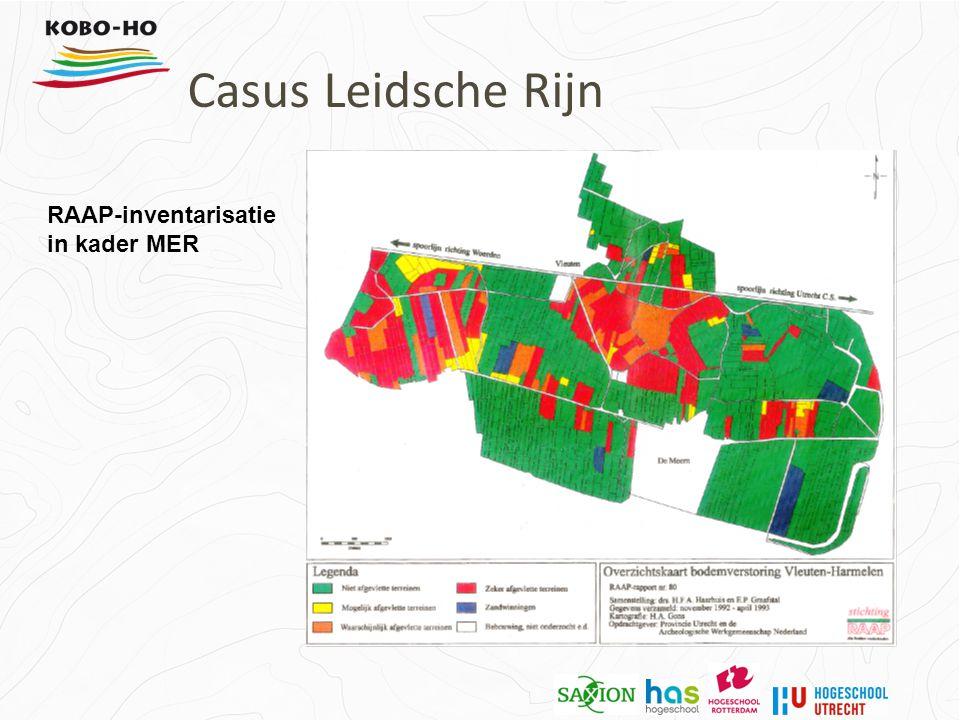 RAAP-inventarisatie in kader MER Casus Leidsche Rijn