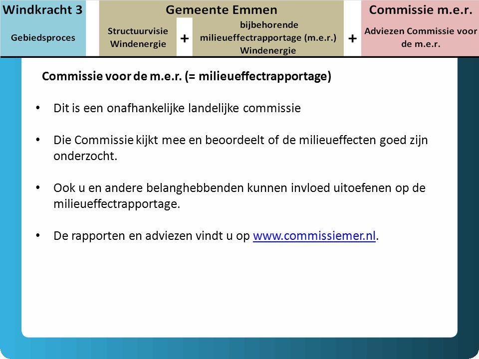 Commissie voor de m.e.r.