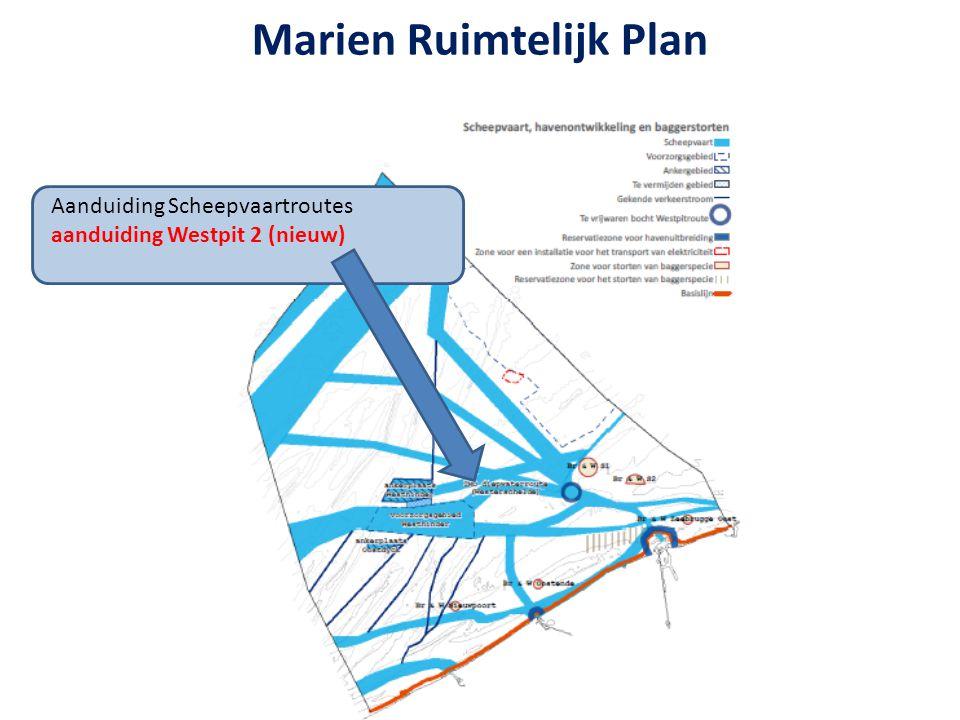 Aanduiding Scheepvaartroutes aanduiding Westpit 2 (nieuw) Marien Ruimtelijk Plan