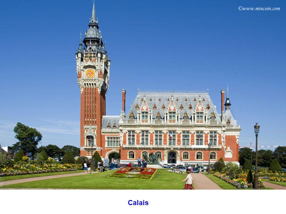 Vliegveld van Calais in Marck