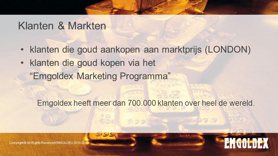 Copyright © All Rights Reserved EMGOLDEX 2010-2014 Klanten & Markten klanten die goud aankopen aan marktprijs (LONDON) klanten die goud kopen via het