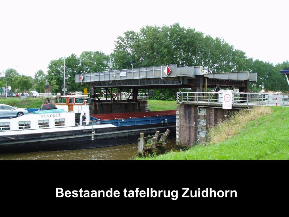 Bestaande tafelbrug Zuidhorn