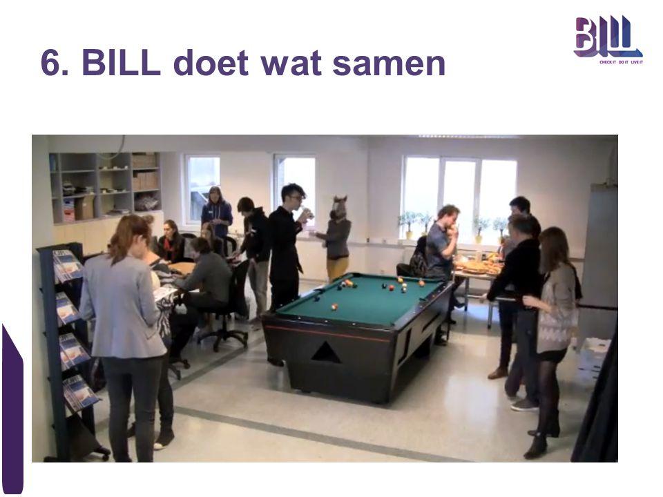6. BILL doet wat samen
