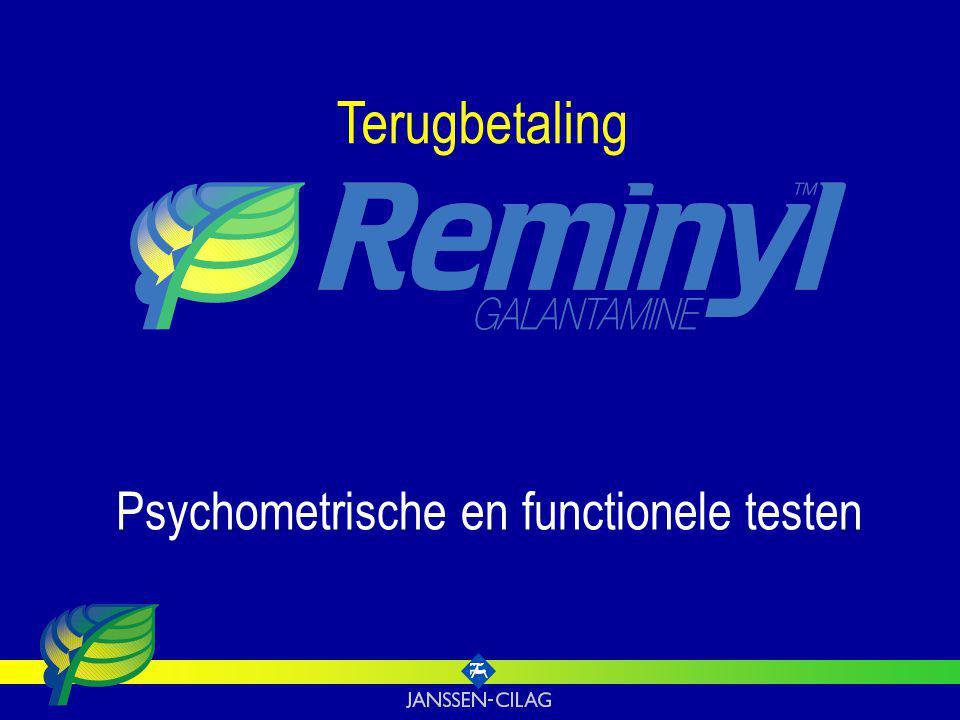 Terugbetaling Psychometrische en functionele testen