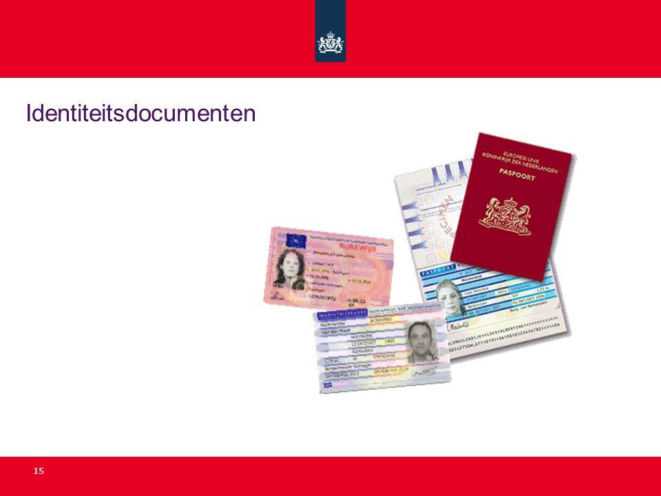 Identiteitsdocumenten 15