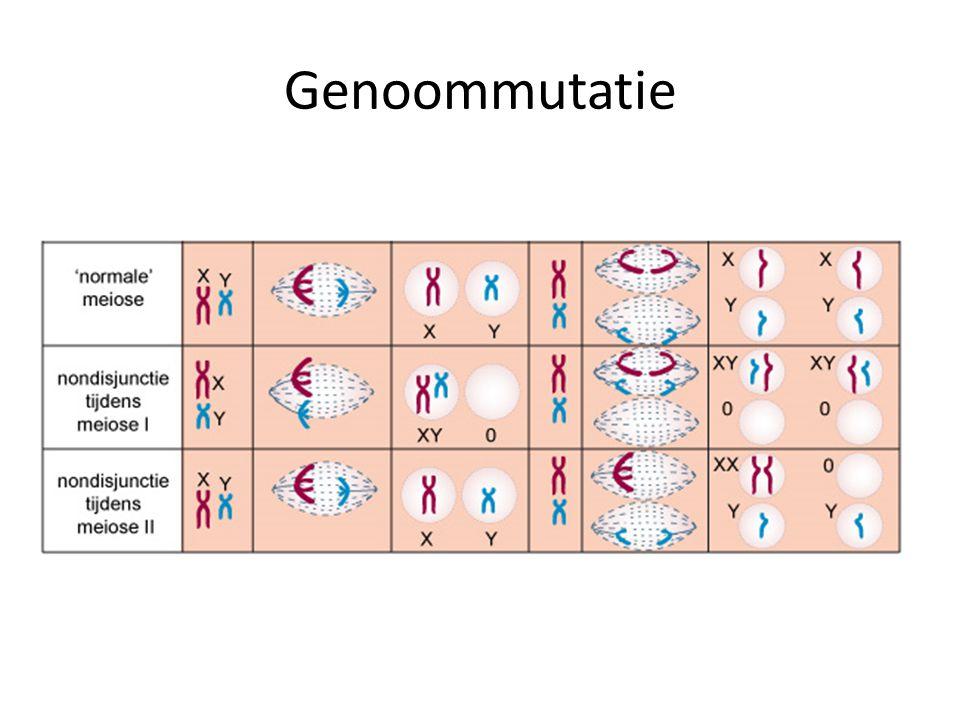 Genoommutatie