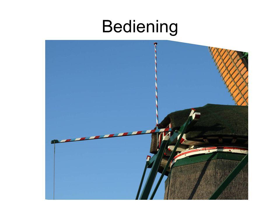 Bediening
