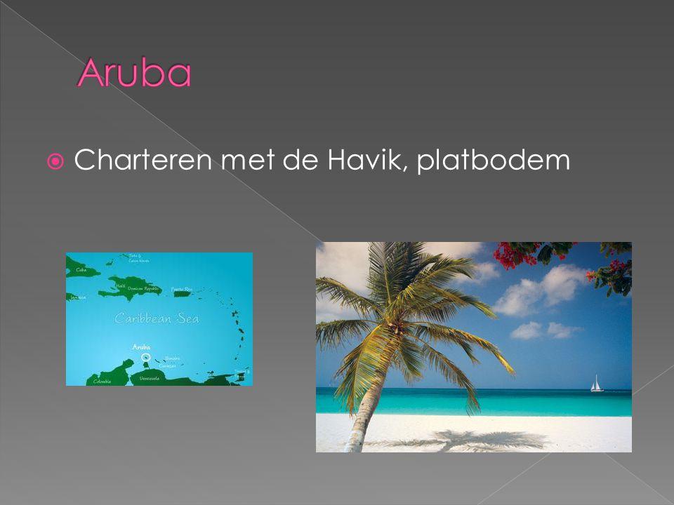  Charteren met de Havik, platbodem