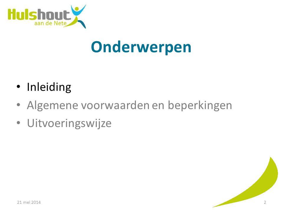 21 mei 201433 OptiesTechnische omschrijving en voorwaardenPrijs Uitvoering door Uw keuze (Duidt aan Oprit Grijze betonklinkers (Standaard) Basis= maximaal 4 m breedte (incl.
