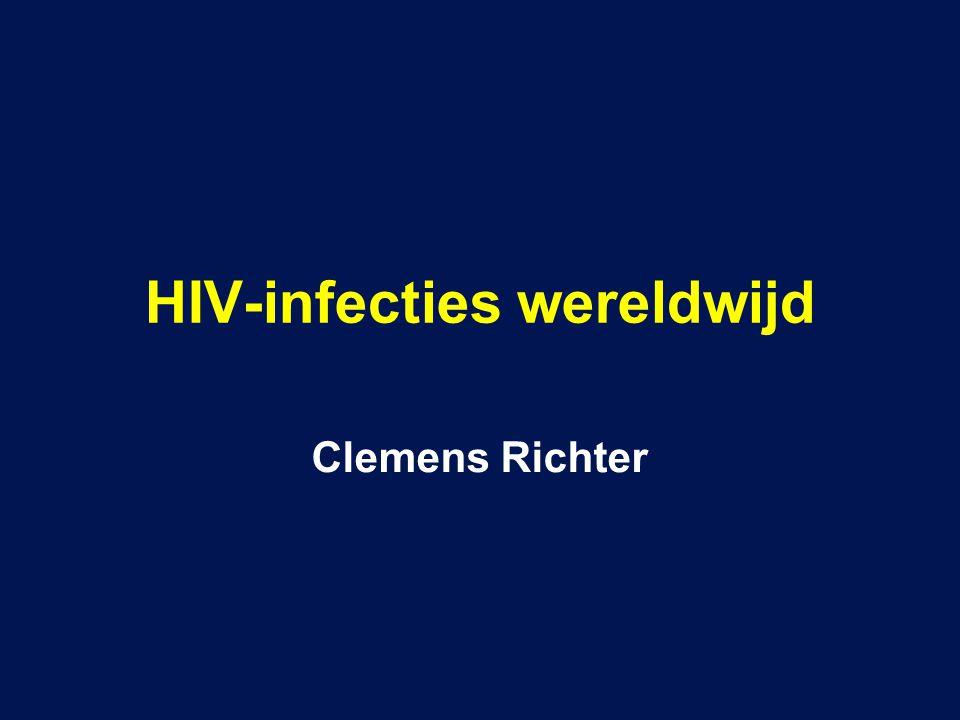 HIV-infecties wereldwijd Clemens Richter