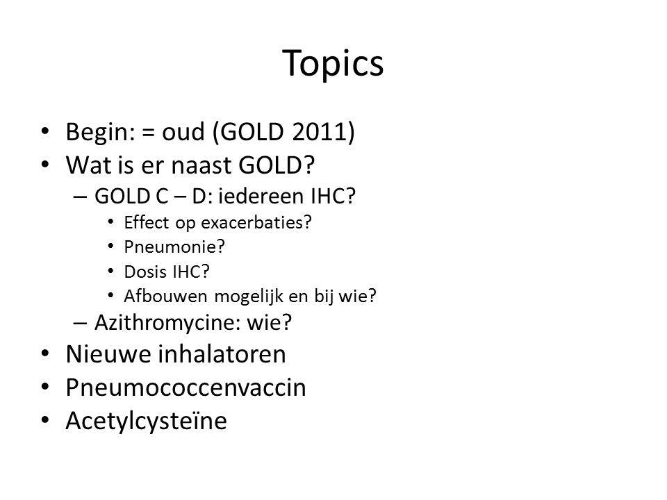  Bronchodilator medications are central to the symptomatic management of COPD.