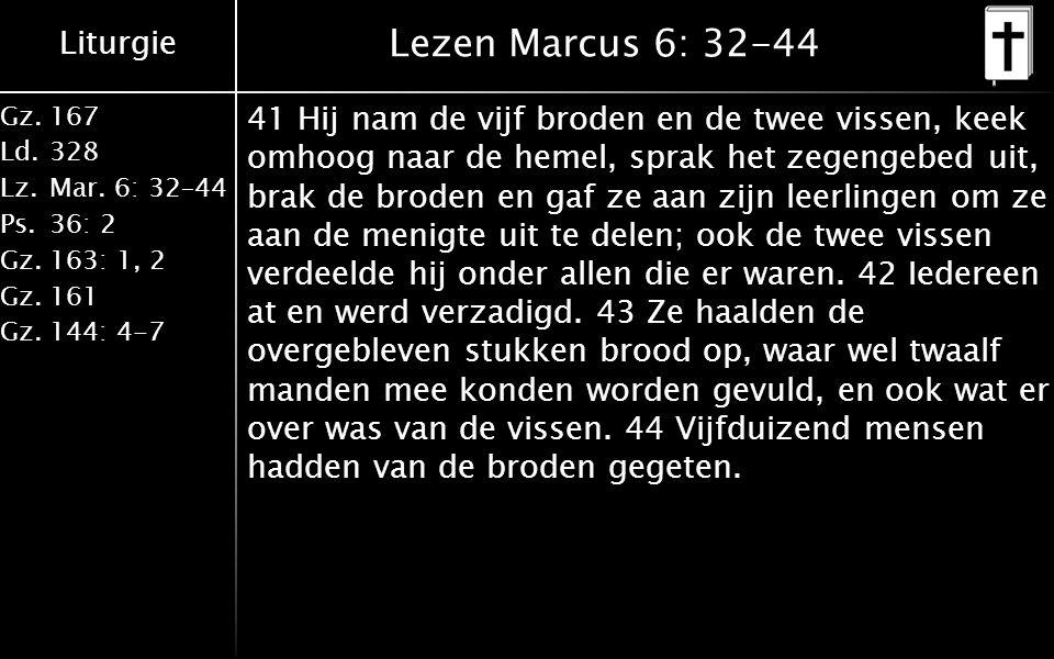 Liturgie Gz.167 Ld.328 Lz.Mar.