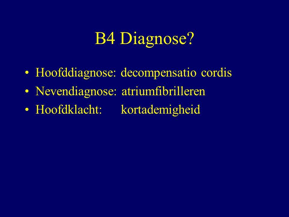 B4 Diagnose.