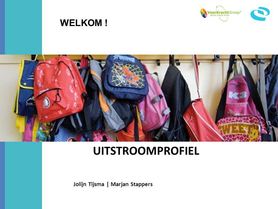 UITSTROOMPROFIEL Jolijn Tijsma | Marjan Stappers WELKOM !