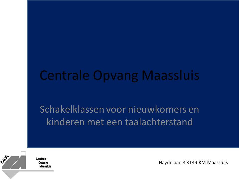 Haydnlaan 3 3144 KM Maassluis Centrale Opvang Maassluis Schakelklassen voor nieuwkomers en kinderen met een taalachterstand