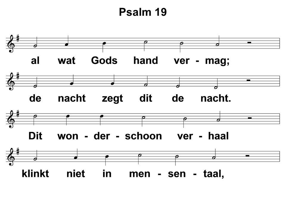  Ps.  Preek  Ps.18 : 9 en 10  Gebed  Collecte  Ps.138 : 1 en 4  Zegen