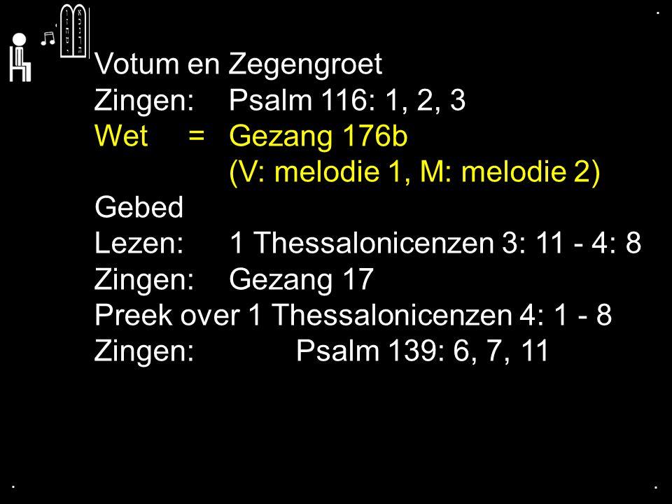 ....Tekst: 1 Thessalonicenzen 4: 1 - 8 1. Leer Gods wil over seksualiteit kennen 2.