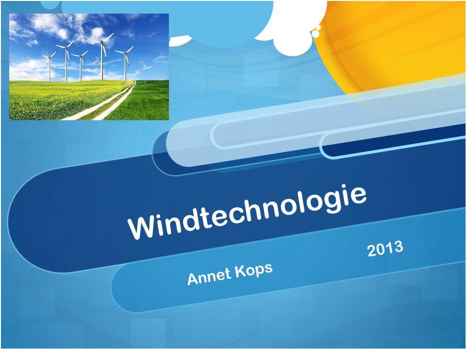 Windtechnologie Annet Kops2013