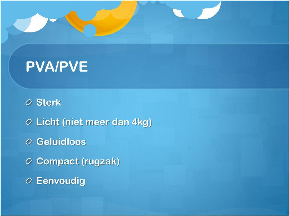 PVA/PVE Sterk Licht (niet meer dan 4kg) Geluidloos Compact (rugzak) Eenvoudig