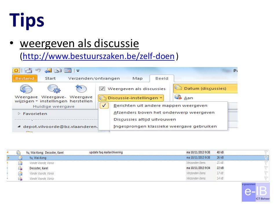 Tips weergeven als discussie (http://www.bestuurszaken.be/zelf-doen )http://www.bestuurszaken.be/zelf-doen