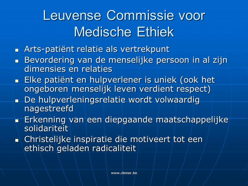 www.cbmer.be Advies 1998 Pre-implantatie Genetische Diagnostiek De beschermwaardigheid van het menselijk embryo moet in ethisch opzicht worden gedacht als een hoge beschermwaardigheid.