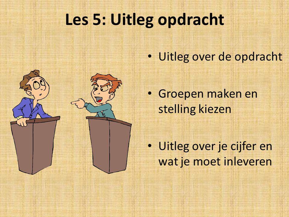Uitleg opdracht 16 of 17 april debat voor een SE cijfer maatschappijleer 7 groepjes van 3 gaan de strijd aan Groepjes maken en stelling kiezen doen we deze les – Regels van het debat, argumenteren en presenteren leer je bij Nederlands.