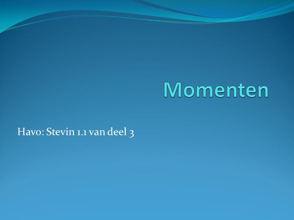 Havo: Stevin 1.1 van deel 3
