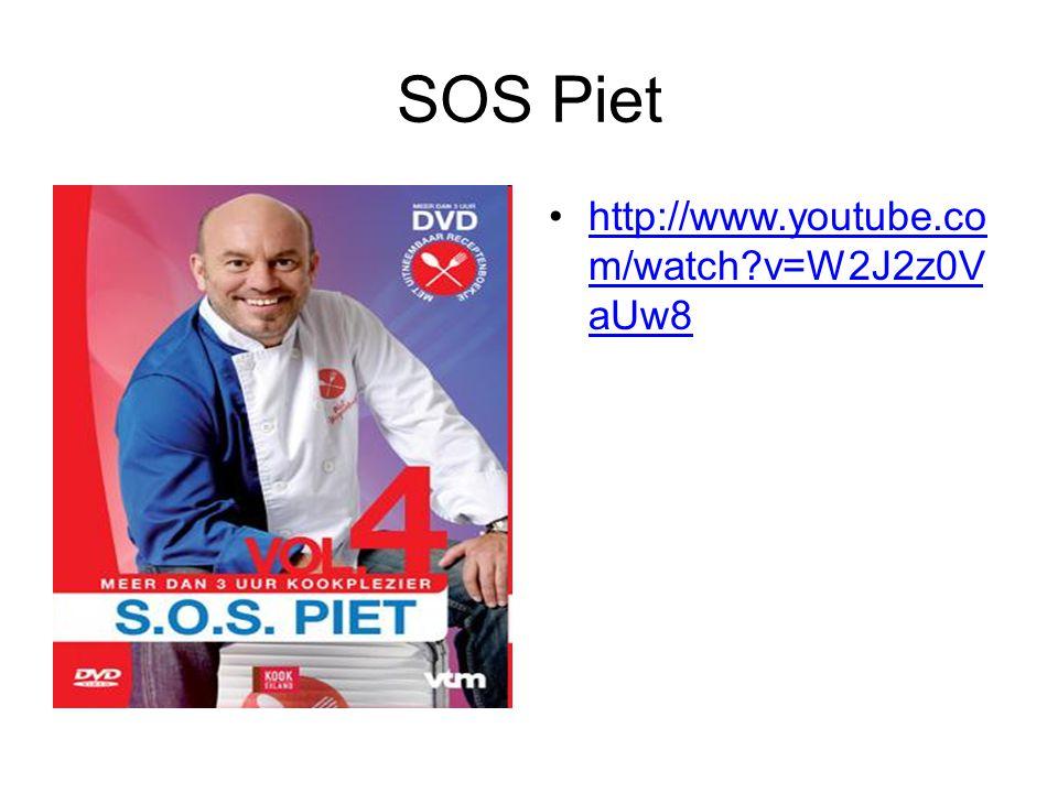 SOS Piet http://www.youtube.co m/watch?v=W2J2z0V aUw8http://www.youtube.co m/watch?v=W2J2z0V aUw8