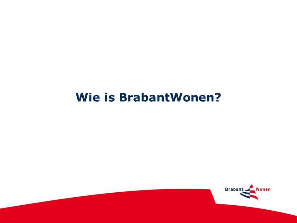 Wie is BrabantWonen?