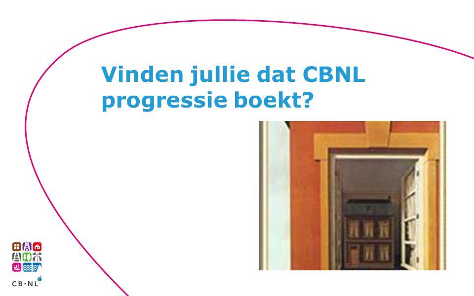 Vinden jullie dat CBNL progressie boekt