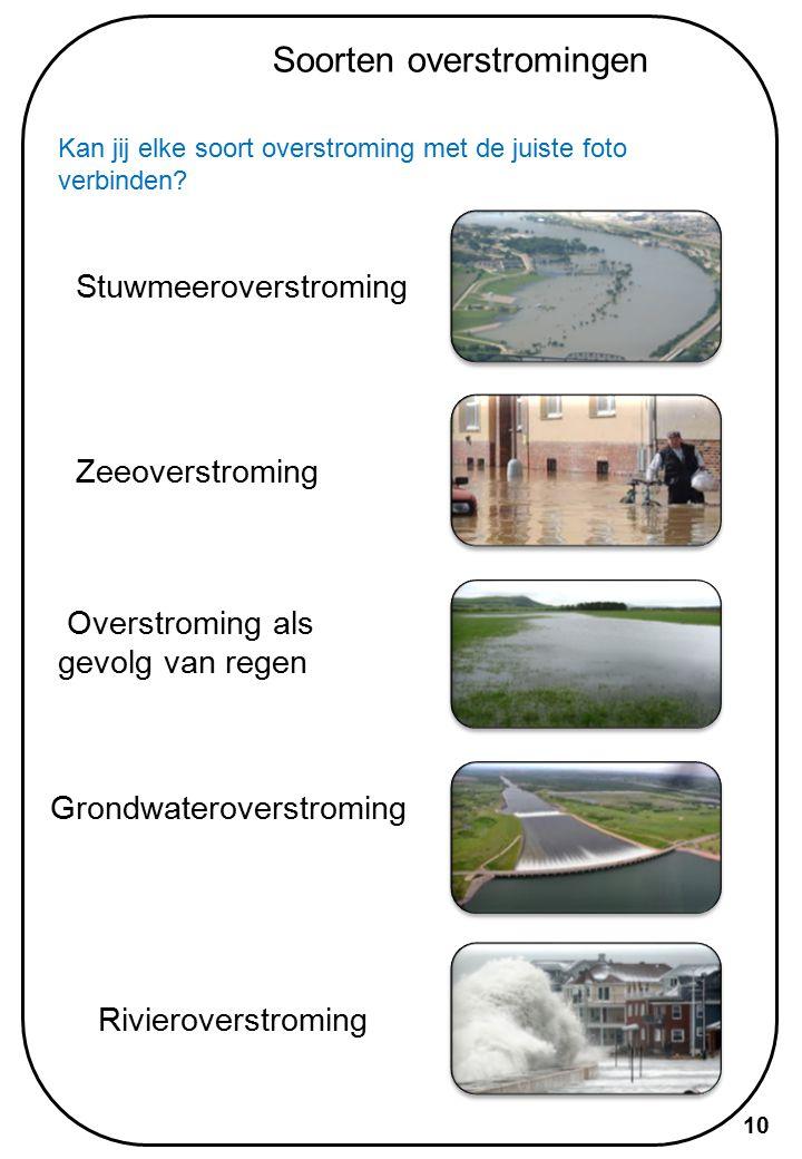 Case Studies Onlangs waren er een aantal ernstige overstromingen in tal van landen.