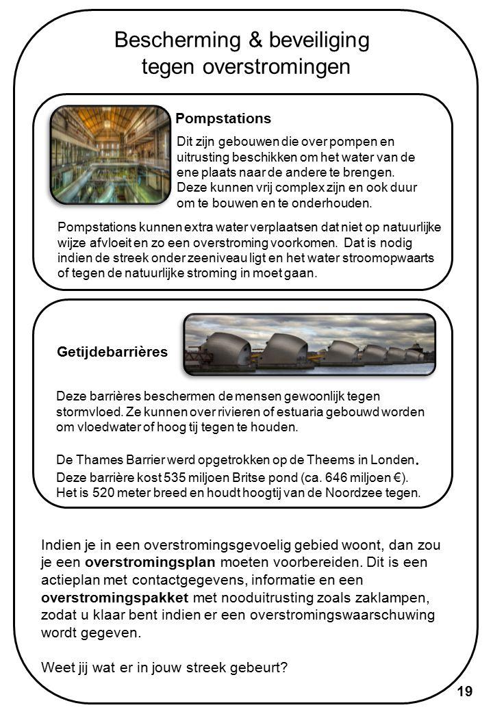 Floodcom-projecten 20 Het project vindt plaats op 4 locaties in Europa - kan jij aan de hand van de website meer te weten komen over de plannen van elke locatie.