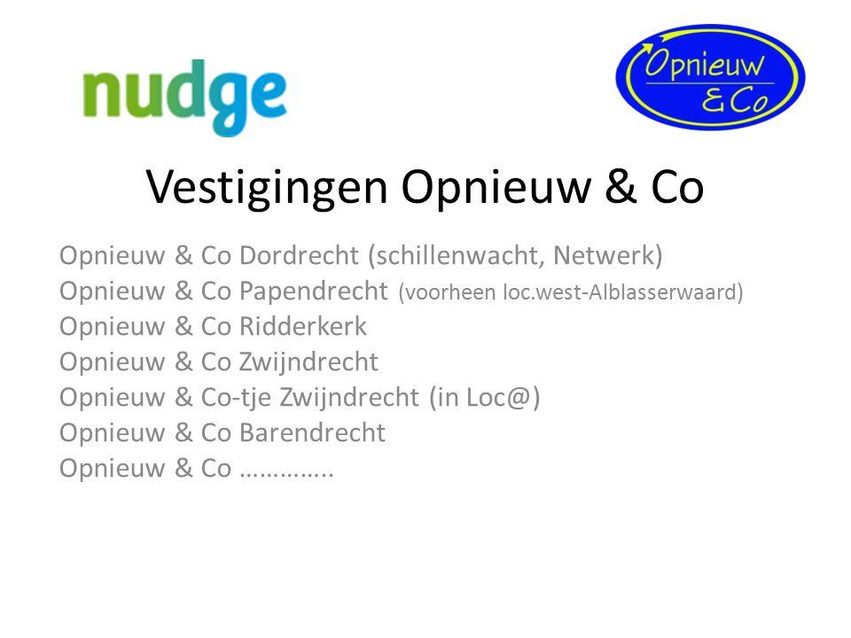 Vestigingen Opnieuw & Co Opnieuw & Co Dordrecht (schillenwacht, Netwerk) Opnieuw & Co Papendrecht (voorheen loc.west-Alblasserwaard) Opnieuw & Co Ridd