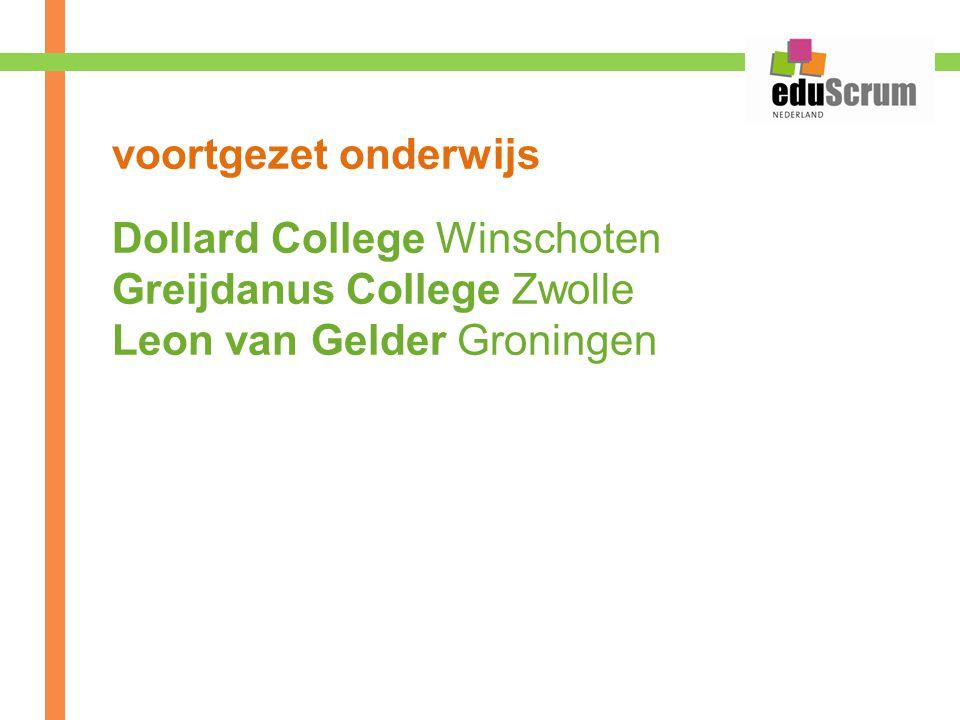 voortgezet onderwijs Dollard College Winschoten Greijdanus College Zwolle Leon van Gelder Groningen