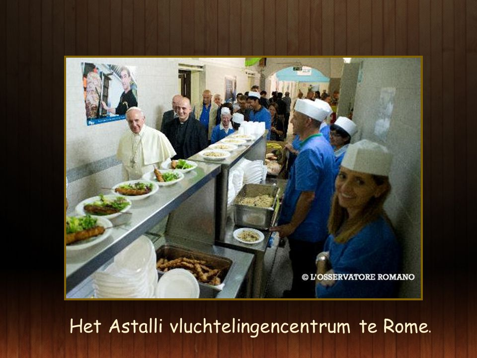 Het Astalli vluchtelingencentrum te Rome.