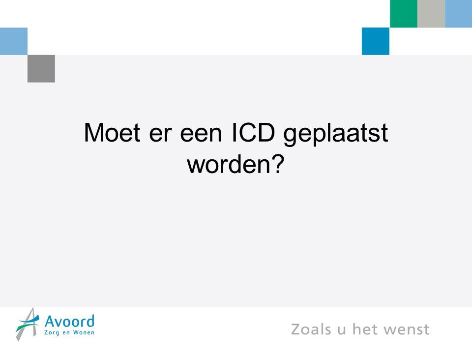 Moet er een ICD geplaatst worden?