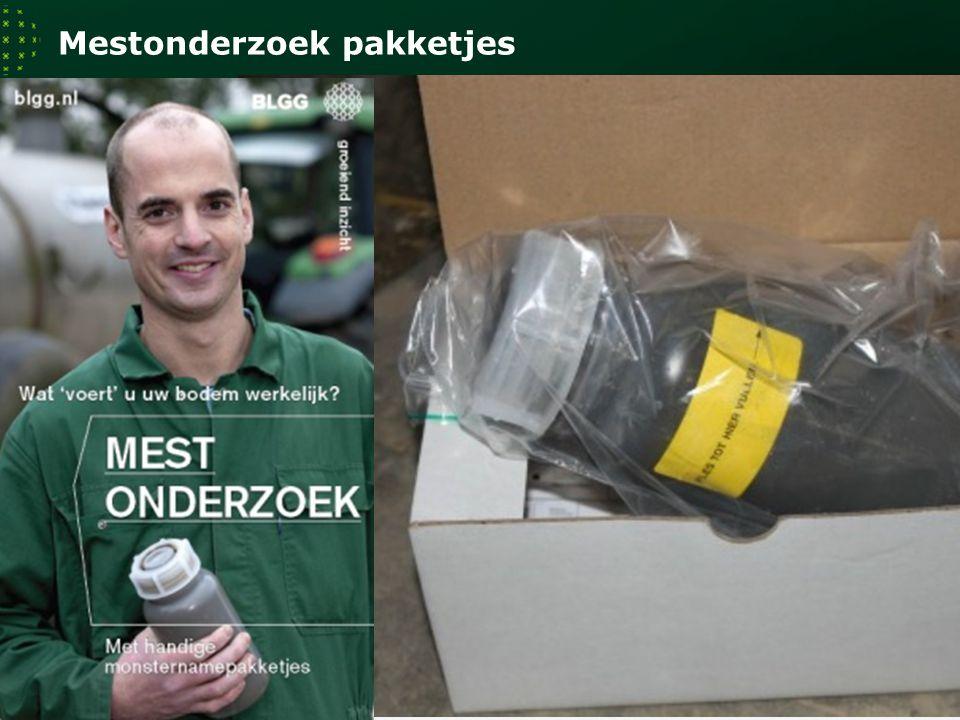 Mestonderzoek pakketjes 11