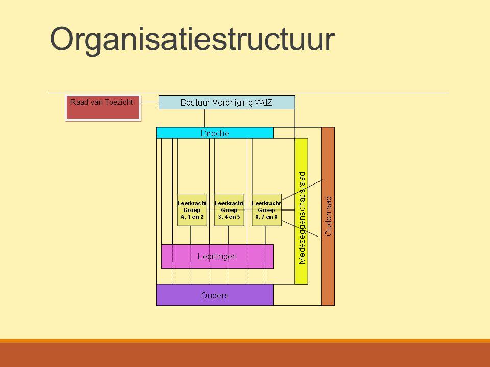 Organisatiestructuur Raad van Toezicht
