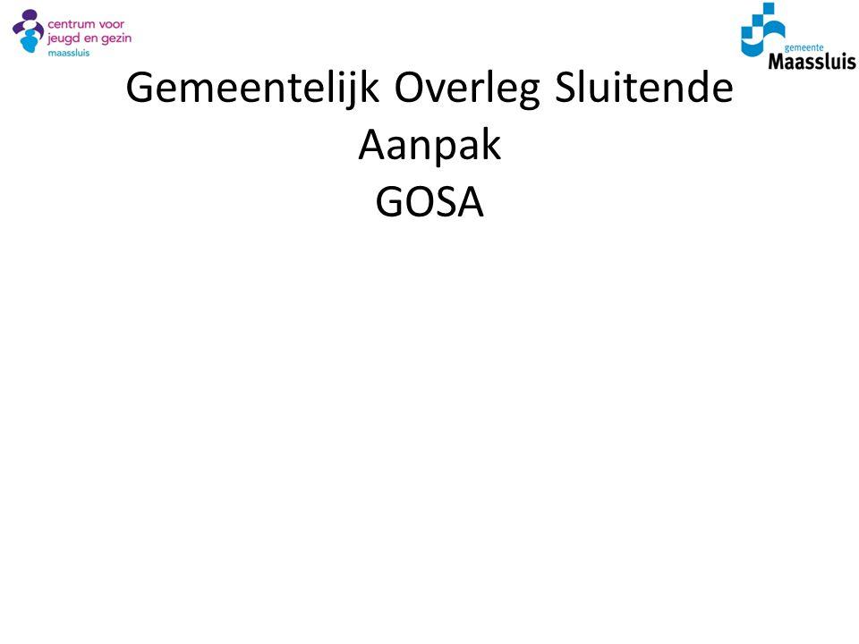 Gemeentelijk Overleg Sluitende Aanpak GOSA