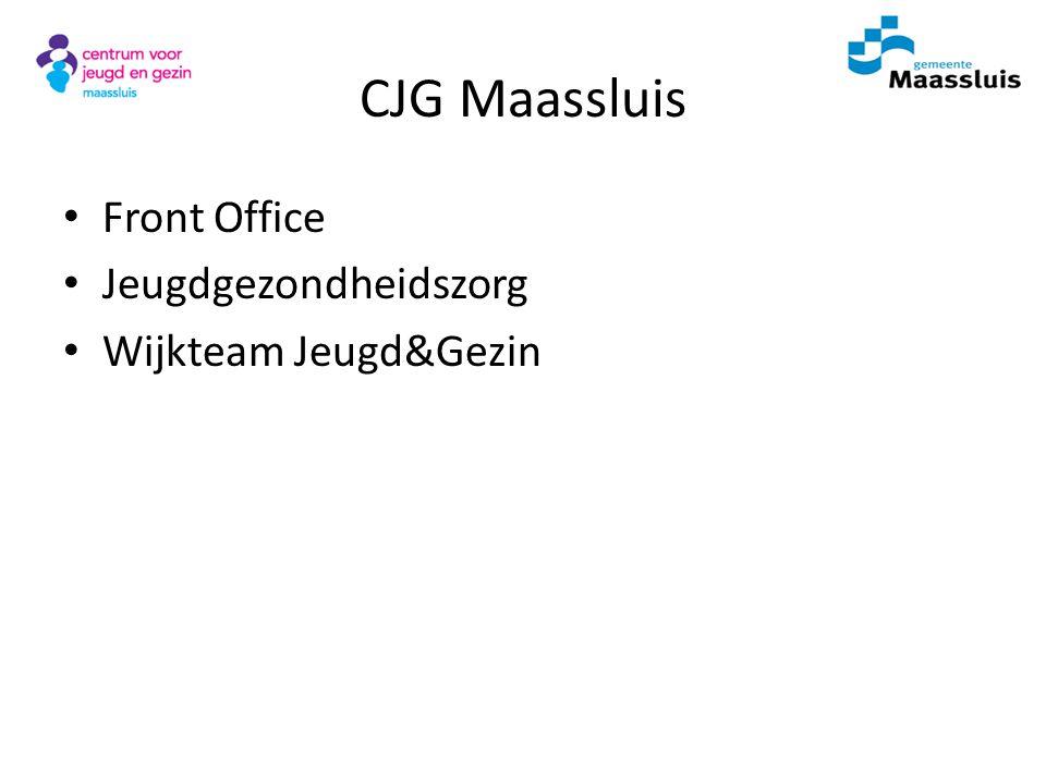 CJG Maassluis Front Office Jeugdgezondheidszorg Wijkteam Jeugd&Gezin