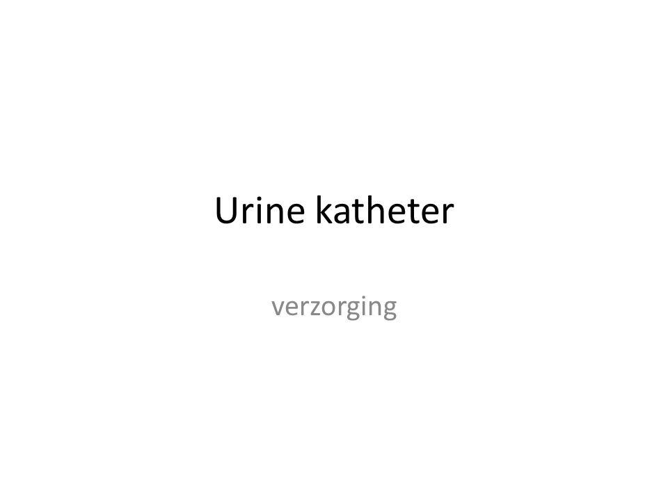 Wat is een katheter.